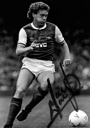 Tony-Woodock-autograph-signed-Arsenal-FC-football memorabilia-signature