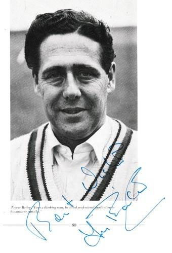 Trevor-Bailey-autograph-signed-england-cricket-memorabilia-essex-ccc-signature