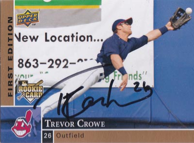 Trevor-Crowe-autograph-signed-cleveland-indians-baseball-memorabilia-outfielder-2009-upper-deck-rookie-card-first-edition
