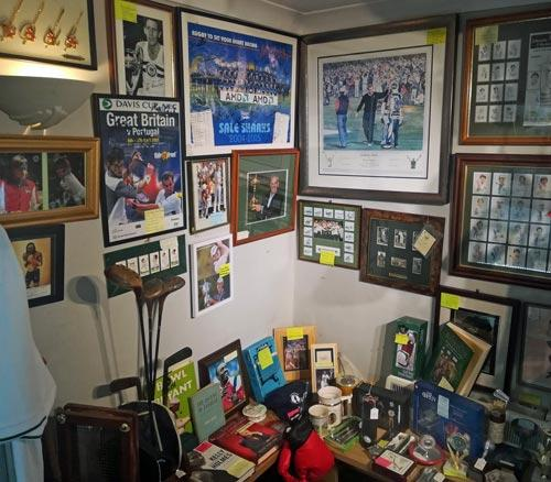 Uniquely-Sporting-Sports-Memorabilia-Allsorts-Antiques-Vintage-Collectables-Shop-Headcorn-Kent-Signed-Autographs-Golf-Legends-Tennis-Boxing-Athletics