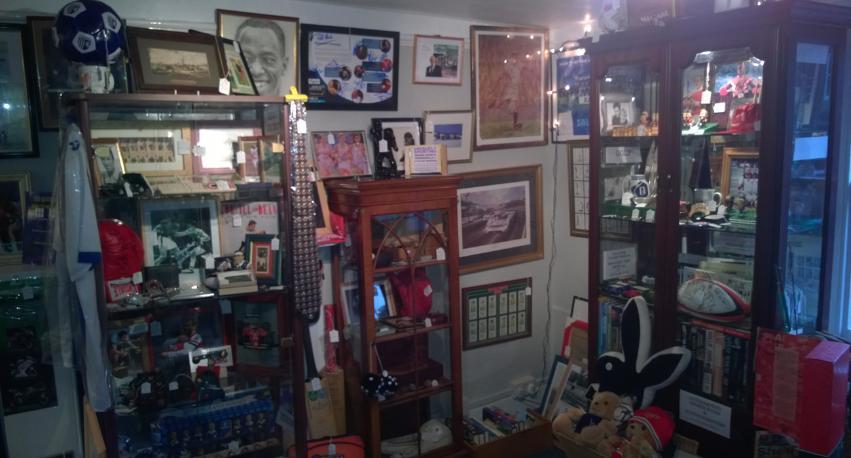 Uniquely Sporting Sports Memorabilia Allsorts Antiques