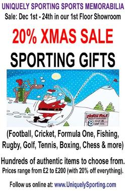 Uniquely-Sporting-Sports-memorabilia-Allsorts-Xmas-Sale-Headcorn-discount-bargains-Christmas-gifts
