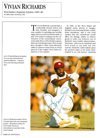 Viv-Richards-autograph-signed-west-indies-cricket-memorabilia-iva-somerset-antigua