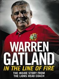 Warren-Gatland-autograph-signed-british-lions-rugby-memorabilia-in-the-line-of-fire-book-head-coach