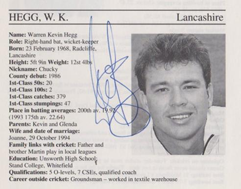 Warren-Hegg-autograph-signed-lancashire-cricket-memorabilia-lancs-ccc-wicket-keeper-signature