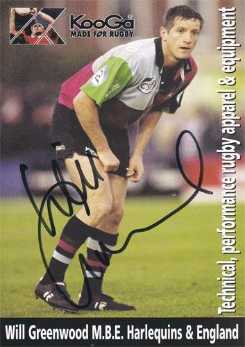 Will-Greenwood-autograph-signed-harlequins-rugby-memorabilia-england-centre-world-cup-2003-quins-koo-ga