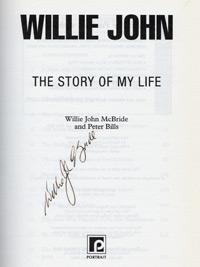 WILLIE JOHN McBRIDE (Ireland & British Lions) signed autobiography