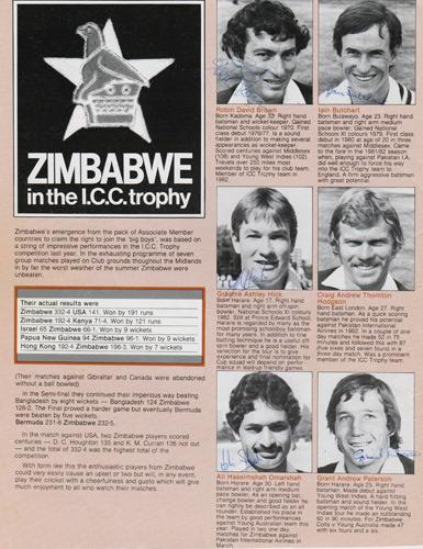 Zimbabwe-cricket-memorabilia-player-autographs-1983-world-cup-graeme-hick-duncan-fletcher-david-houghton-traicos-peekover-omarshah-paterson-brown-butchart