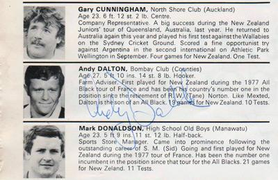 andy-dalton-autograph-New-Zealand-rugby-memorabilia-signed-nov-1979-england-tour-programme-exeter-south-and-southwestern-counties-bernie-fraser-signature-all-blacks