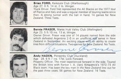 bernie-fraser-autograph-New-Zealand-rugby-memorabilia-signed-nov-1979-england-tour-programme-exeter-south-and-southwestern-counties-andy-dalton-signature-all-blacks