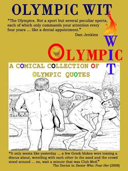 olympic wit funny quotes book games colin m jarman blue eyed books quotations olympics